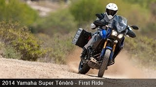 1. 2014 Yamaha Super Tenere First Ride - MotoUSA