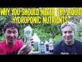 Why You Should Never Buy Liquid Hydroponic Gardening Nutrients