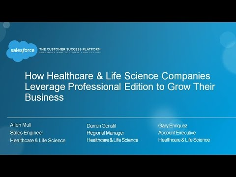 Professional Edition for Healthcare & Life Science Companies