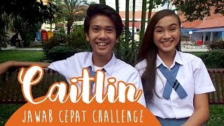 Download Video Caitlin Ask For: Jawab Cepat Challenge With Iqbaal CJR MP3 3GP MP4