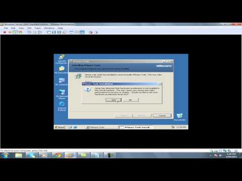 how to install vmware tools on window server 2003 on vmware workstation in windows 7.mp4