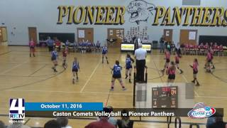 Caston Volleyball vs Pioneer Panthers