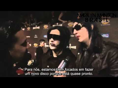 Marilyn Manson e Twiggy Ramirez - Scream Awards 2008