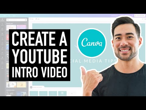 How To Make an Intro For YouTube Videos Free in Canva // How To Create a YouTube Intro