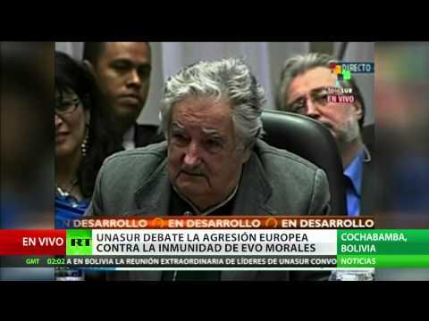 Discurso del presidente de Uruguay: Nos tratan como párvulos, ya no somos colonias