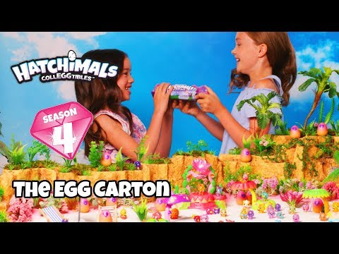 Hatchimals CollEGGtibles Season 4 | Ch. 5 Egg Carton