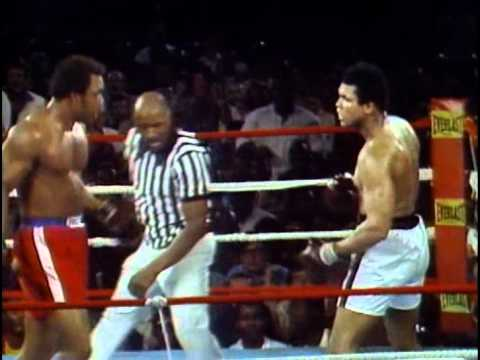 Ali) - George Foreman vs Muhammad Ali - George Foreman defends the Heavyweight Championship of the World for the third time against former Champion, Muhammad Ali. A...