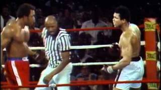 Video George Foreman vs Muhammad Ali - Oct. 30, 1974  - Entire fight - Rounds 1 - 8 & Interview MP3, 3GP, MP4, WEBM, AVI, FLV September 2018