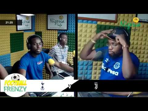 JUVENTUS Vs TOTTENHAM LIVE COMMENTARY WITH FEMI AND THE GANG
