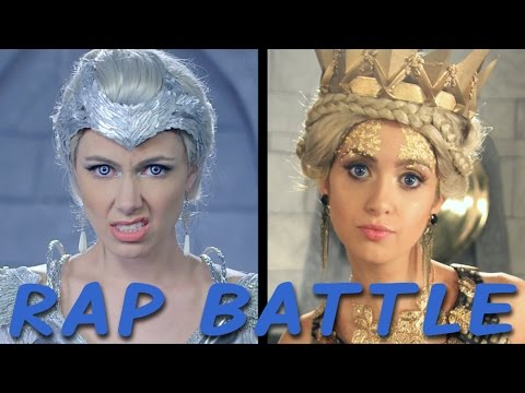 Video FREYA vs RAVENNA: Princess Rap Battle (Laura Marano, Derek Theler, Whitney Avalon) download in MP3, 3GP, MP4, WEBM, AVI, FLV January 2017
