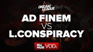London vs Ad Finem, game 1