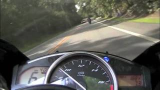 10. 2008 Yamaha YZF R6 Motorcycle Ride