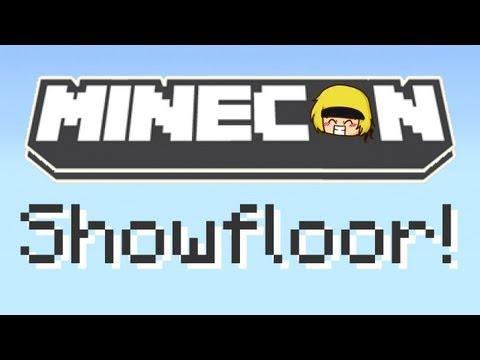 Minecon: Showfloor Tour!