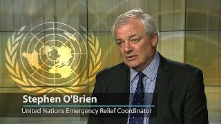Ahead of World Humanitarian Day, UN Emergency Relief Coordinator Stephen O'Brien hails the 'extraordinary' job done by aid workers worldwide while lamenting not being able to respond to increasing the needs.
