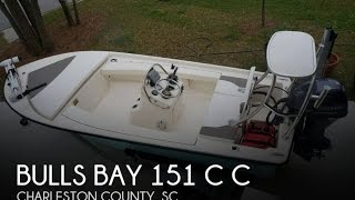 9. [UNAVAILABLE] Used 2012 Bulls Bay 151 C C in Mnt Pleasant, South Carolina