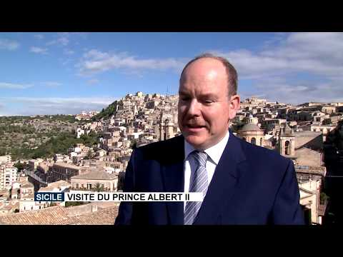 H.S.H. Prince Albert II visits Sicily