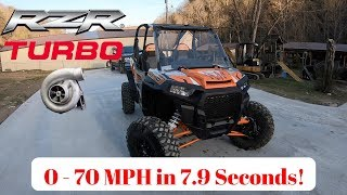 10. 2018 Polaris Turbo RZR XP 0-70 Acceleration