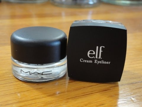 elf cream eyeliner - Follow me on twitter www.twitter.com/saywink or friend me on facebook http://www.facebook.com/pages/Saywink/270863369664915 The results are a little surprisi...