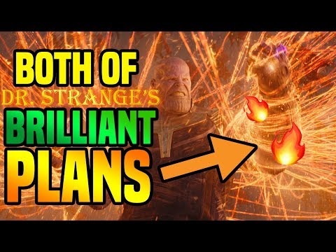 BOTH of Dr Strange's Brilliant Plans In Avengers Infinity War ( My Theories )