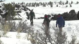 Snowshoeing Southern Idaho