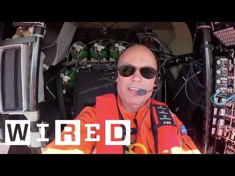 Как устроен быт пилота самолета Solar Impulse 2  - Центр транспортных стратегий