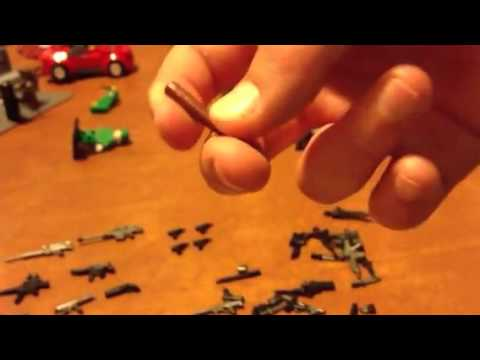 Brickarms zombie defense pack unboxing