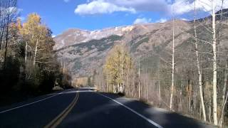Ouray (CO) United States  city pictures gallery : Million Dollar Highway: Silverton to Ouray, Colorado US 550 Dashcam