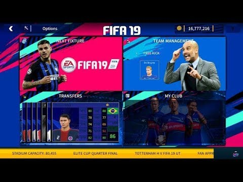 Fifa 19 Mod Dream League Soccer 2019 V6.05 Android APK+OBB (Offline+Online) 300 MB Full HD Graphics