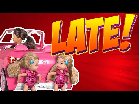 Barbie - Late for Gymnastics   Ep.130
