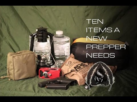 PREPPER - In this episode, we review 10 items (plus 1 for extra credit) that are essential to survival if something catastrophic happens. These are items we feel every...