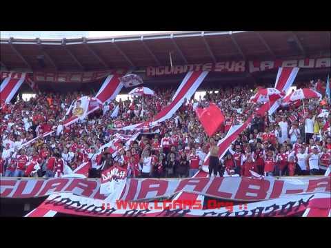 NO DEJAREMOS DE ALENTAR ! Independiente Santa Fe Vs Millonarios - Clásico 275 - La Guardia Albi Roja Sur - Independiente Santa Fe