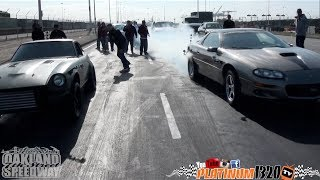 Turbo Ls1 Swap 280z vs Nitrous SS Camaro battle for the Nor-Cal Crown for the fastest stick shift manual carhttp://instagram.com/platinum1320tvhttps://www.facebook.com/PLATINUM1320tvPLATINUM 1320