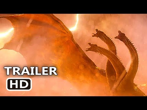 "GODZILLA 2 ""3 Heads Monster"" Trailer (2019) Millie Bobby Brown Movie HD - Thời lượng: 73 giây."
