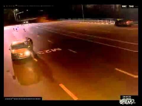 Politie agent is bang (Humordag.nl)