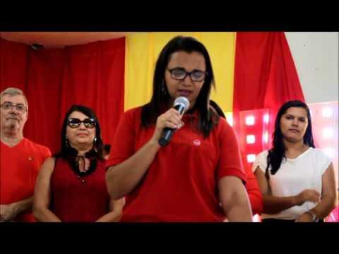 Adenilda Mangueira tem nome homologado a pré candidata pelo PC do B, em Santana de Mangueira