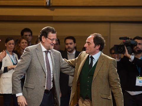 Paulo Portas interviene en la Convención del PP