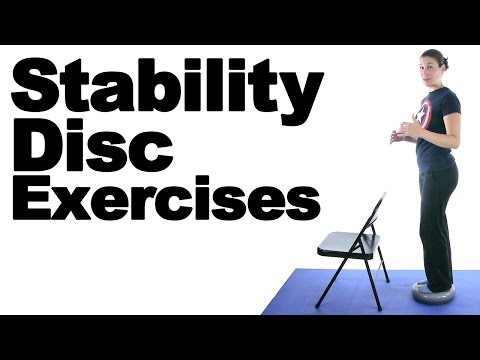 Stability Disc Exercises - Ask Doctor Jo