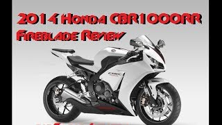 8. 2014 HONDA CBR1000RR Fireblade Review