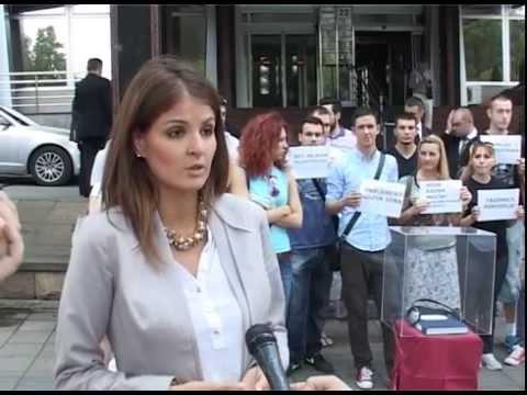 Акција Демократске омладине поводом новог Закона о раду