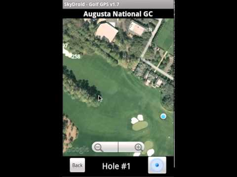 Video of SkyDroid - Golf GPS