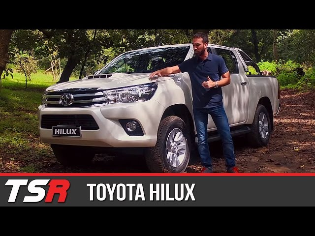 toyota hilux 2016 test drive agustin casse. Black Bedroom Furniture Sets. Home Design Ideas