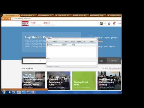 Leveraging Meetup.com for Sourcing by Sharath Kumar – #SourcingAddaWebinar