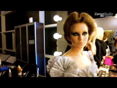 مكياج وتسريحة ارت مع خبيرة التجميل فاطمة الدوسري - art makeup and hair with Fatima Aldoseri (видео)
