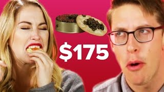 People Guess Cheap Vs. Expensive Caviar