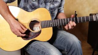 Neil Young Inspired Easy Beginner Acoustic Guitar lesson In the style of Southern Man