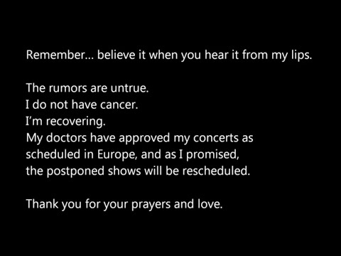 Janet Jackson's Message