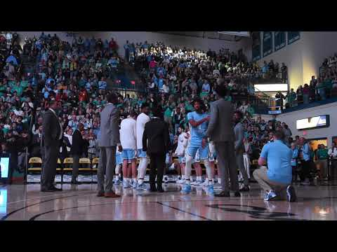 THI TV: UNC Player Introductions At UNCW