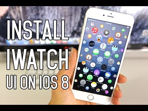 ipod as a watch - How To Install Apple Watch UI on iPhone, iPad & iPod Touch on iOS 8. Really cool simulation of the iWatch user interface. Check it out! Full Guide Here: http://phonerebel.com/install-apple-watch-u...