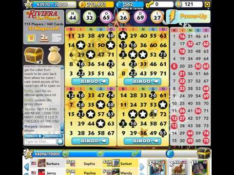 Bingo Blitz: Riviera LAS VEGAS (HIGH ROLLER CRAPS WIN)