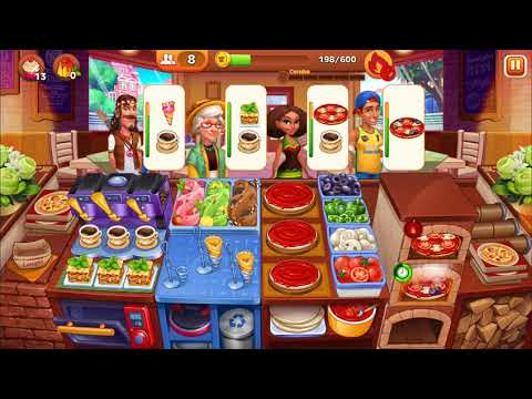 Level 271-280 Cooking Madness - A Chef's Restaurant Games (3 Stars Only (Hard))
